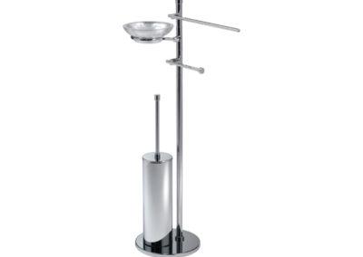 DE373-portasalviette-vetro-foglia-argento