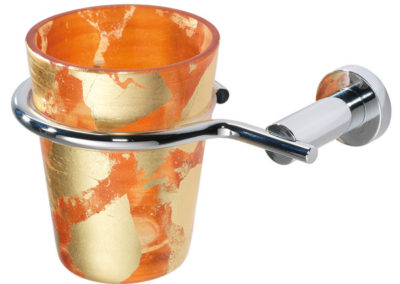 DE4A-porta-bicchiere-bagni-eleganti-foglia-oro-carpi